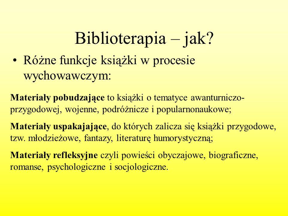 Biblioterapia – jak Różne funkcje książki w procesie wychowawczym:
