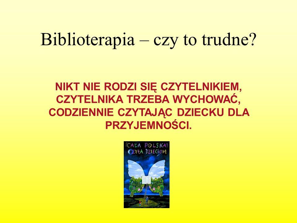 Biblioterapia – czy to trudne