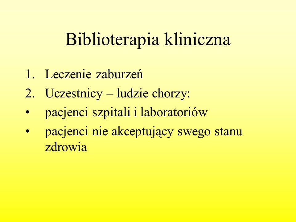 Biblioterapia kliniczna