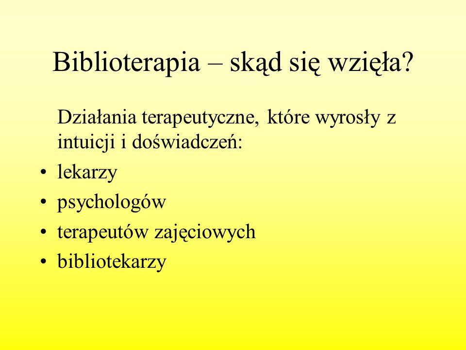 Biblioterapia – skąd się wzięła
