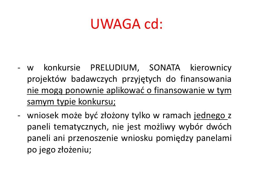 UWAGA cd: