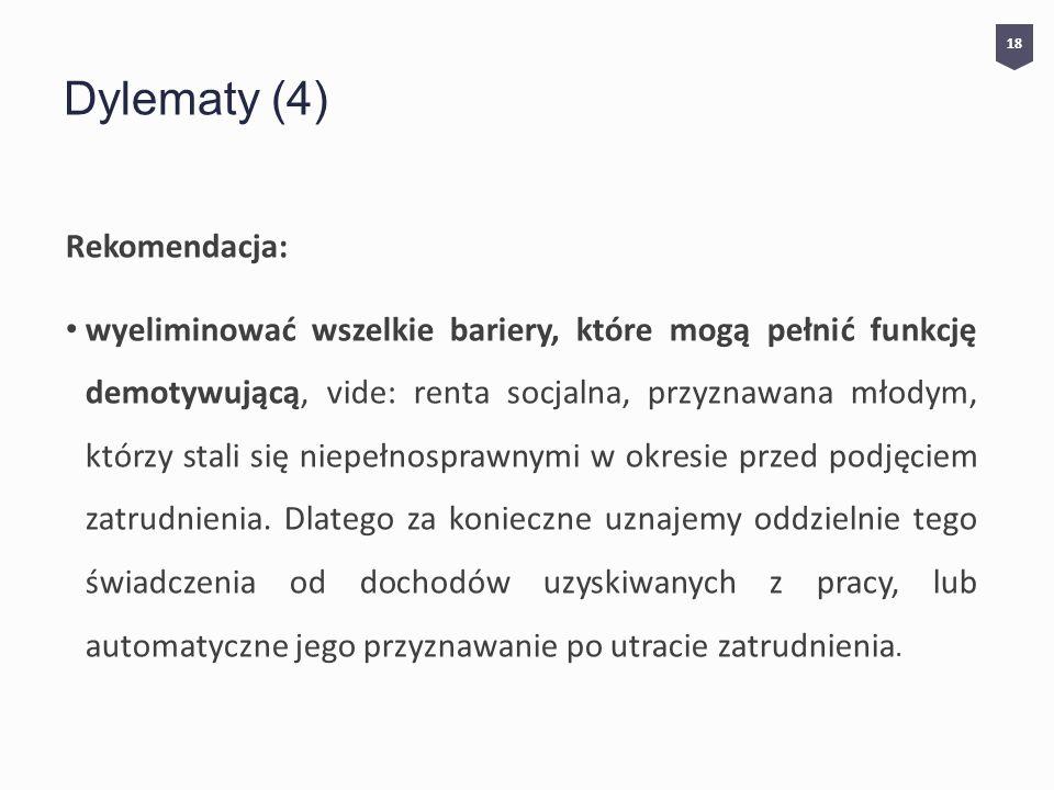 Dylematy (4) Rekomendacja:
