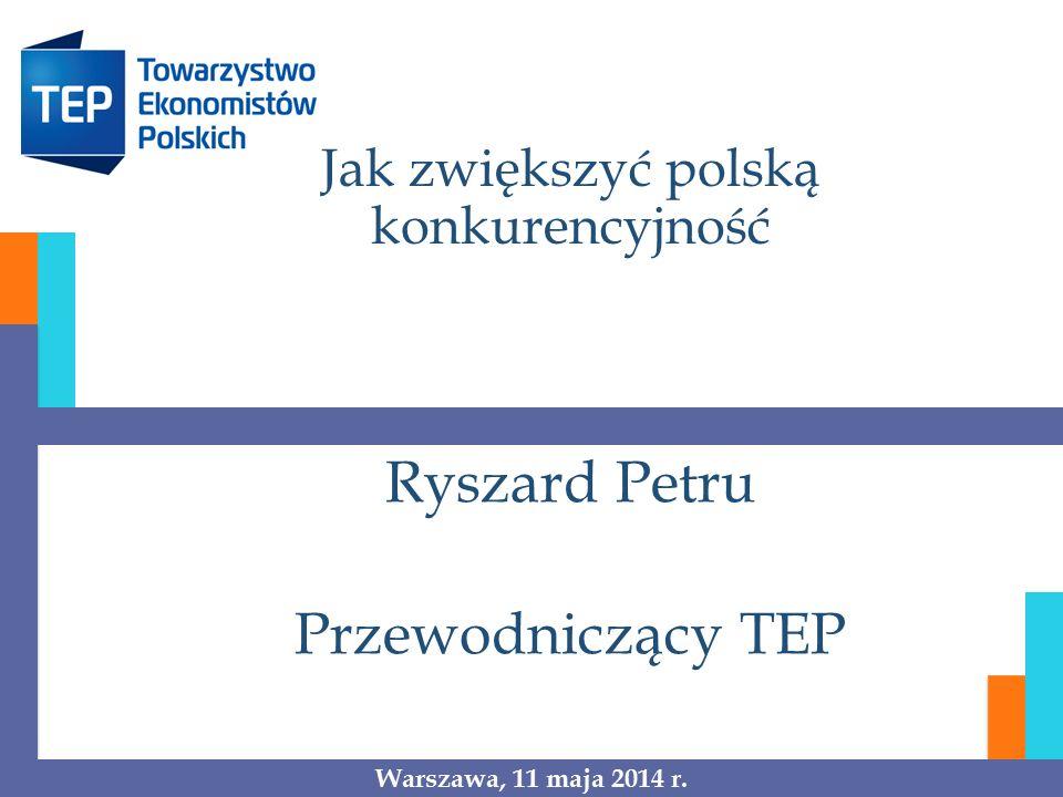 Jak zwiększyć polską konkurencyjność