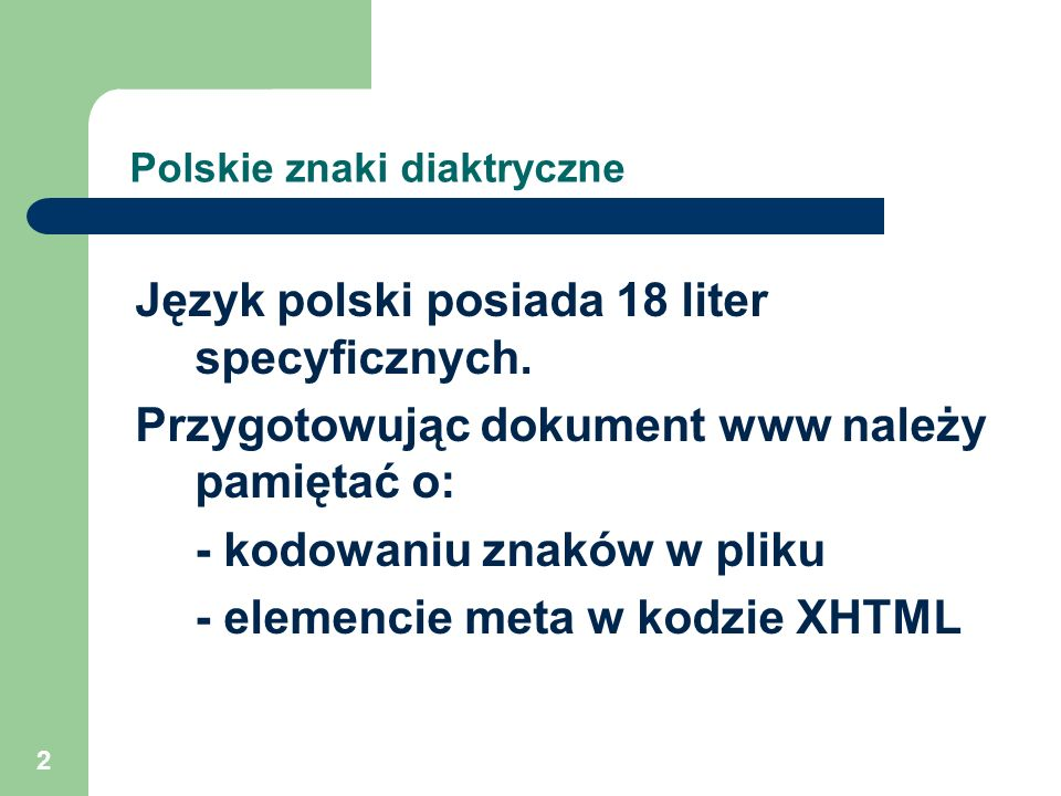Polskie znaki diaktryczne