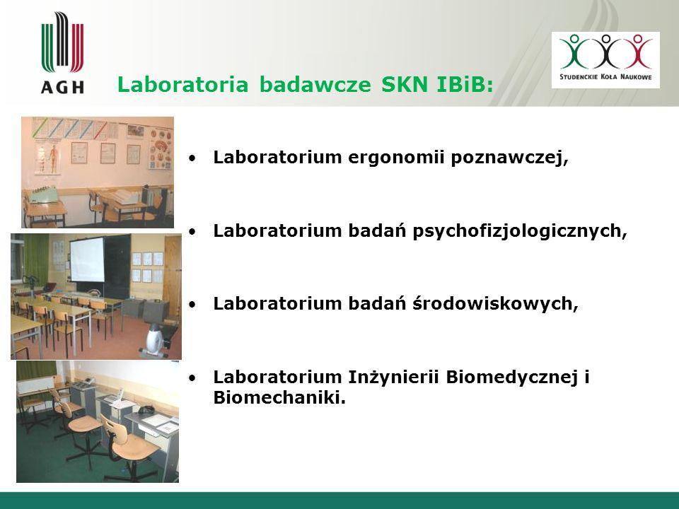 Laboratoria badawcze SKN IBiB: