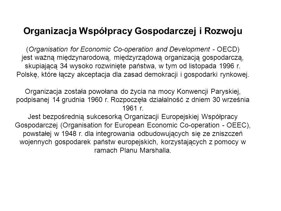 Organizacja Współpracy Gospodarczej i Rozwoju