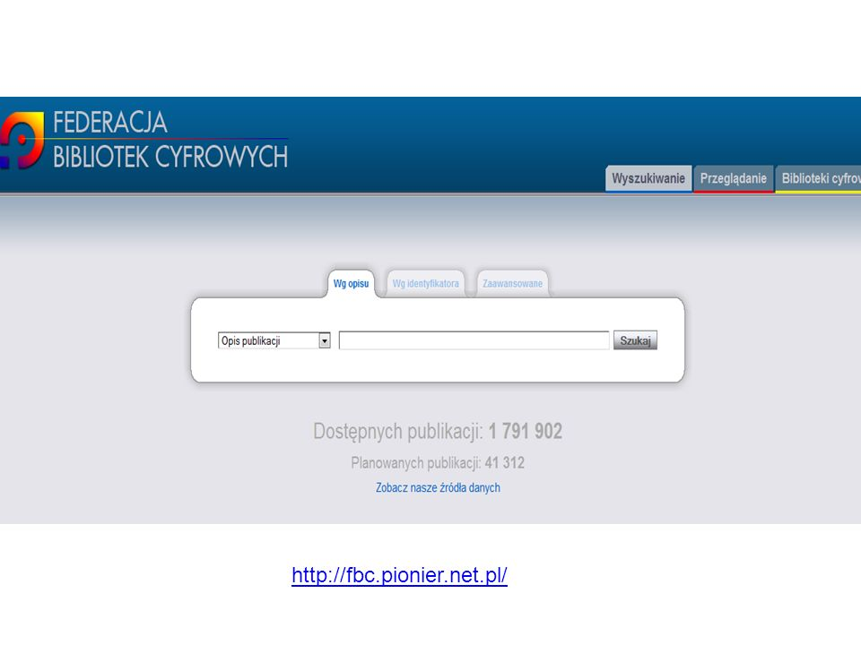 http://fbc.pionier.net.pl/