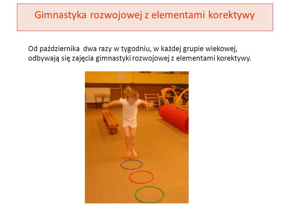 Gimnastyka rozwojowej z elementami korektywy