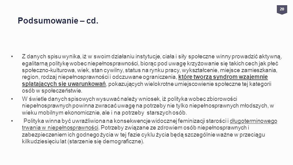 Podsumowanie – cd. 20.