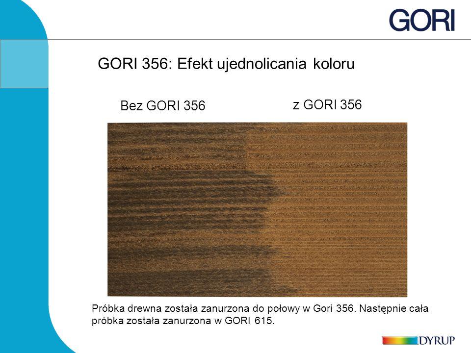 GORI 356: Efekt ujednolicania koloru