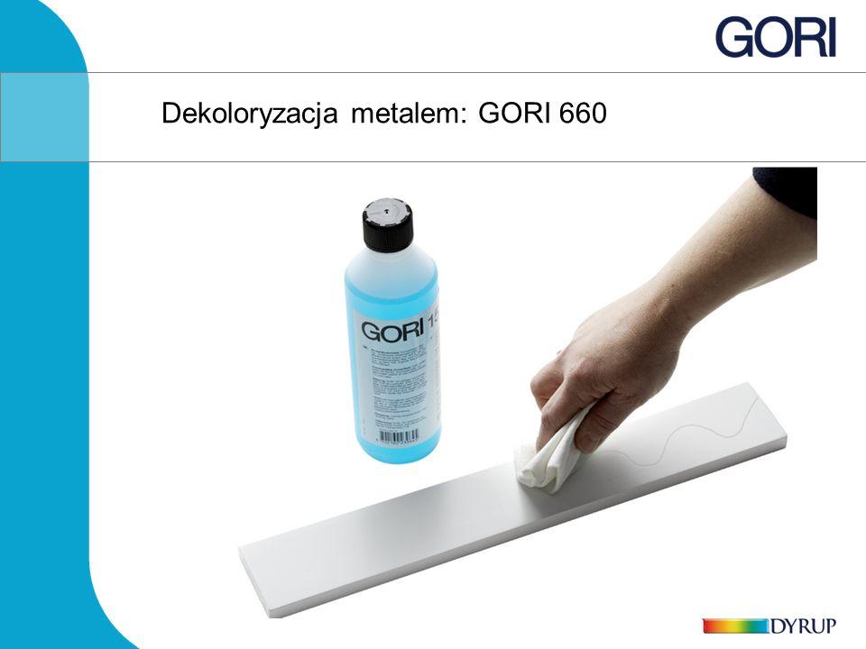 Dekoloryzacja metalem: GORI 660