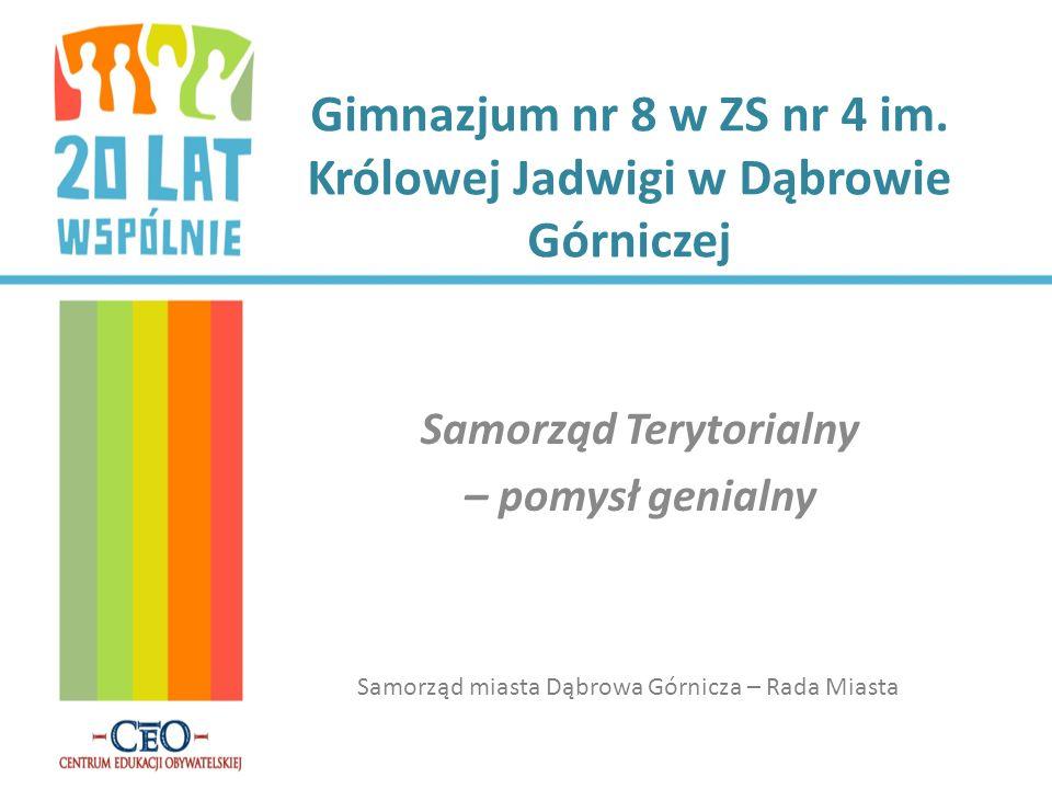 Gimnazjum nr 8 w ZS nr 4 im. Królowej Jadwigi w Dąbrowie Górniczej