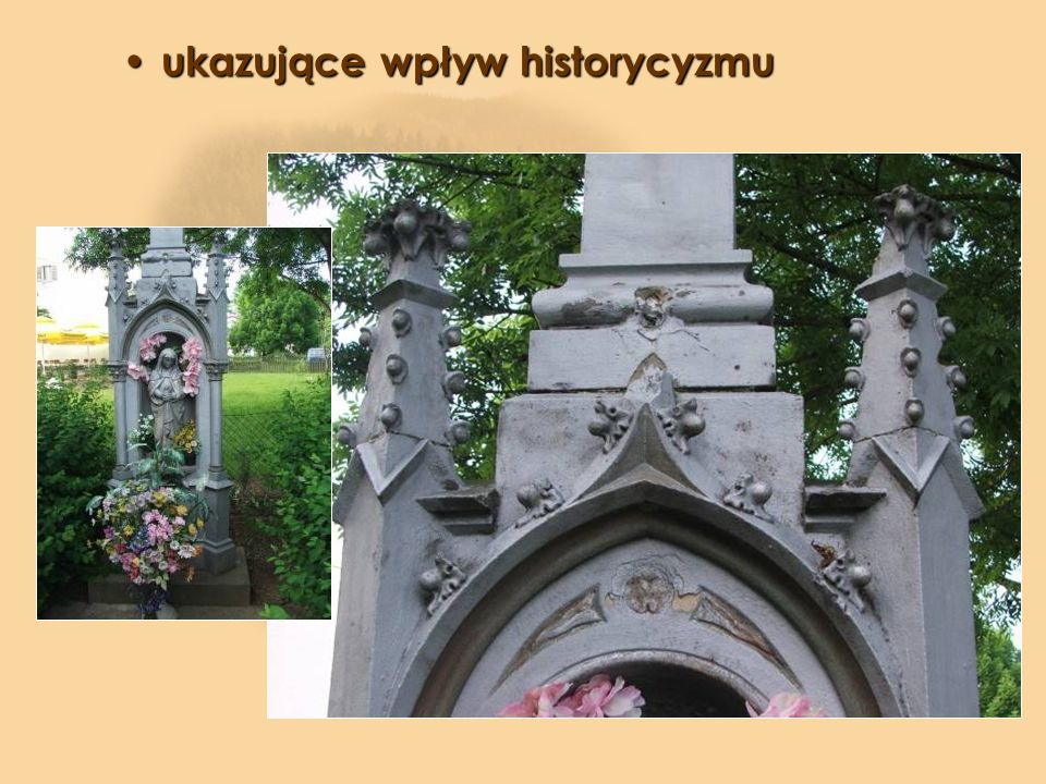 ukazujące wpływ historycyzmu
