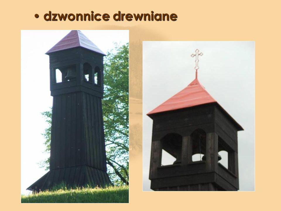 dzwonnice drewniane