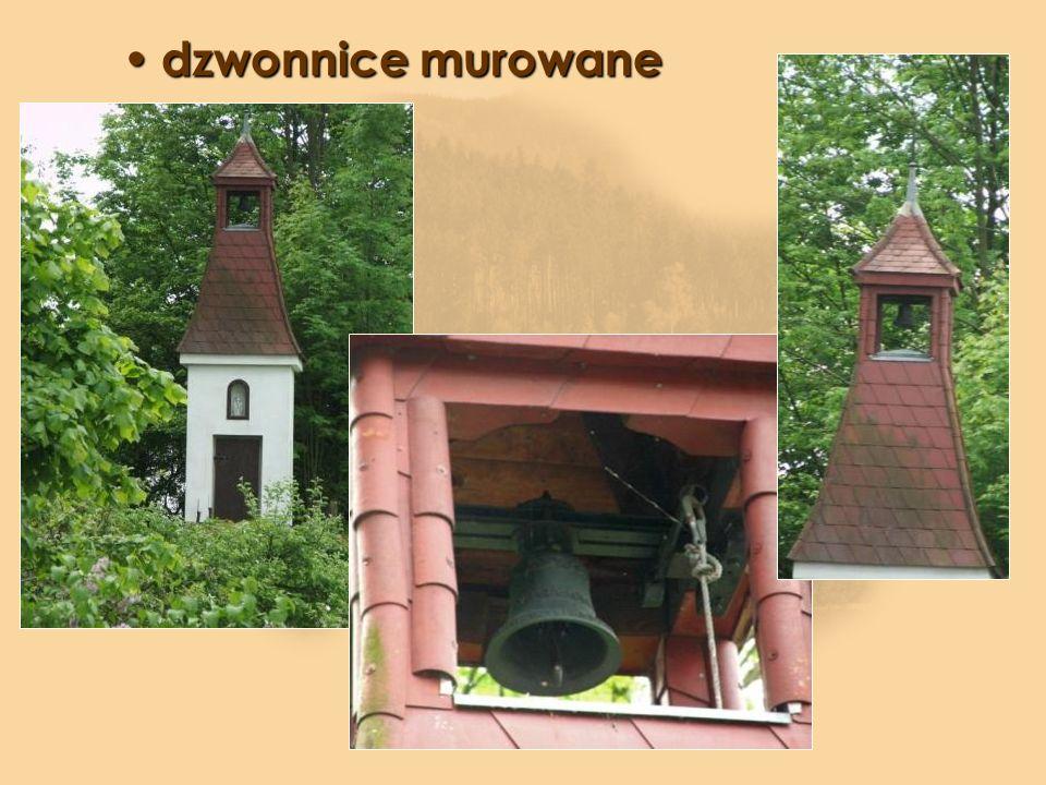dzwonnice murowane