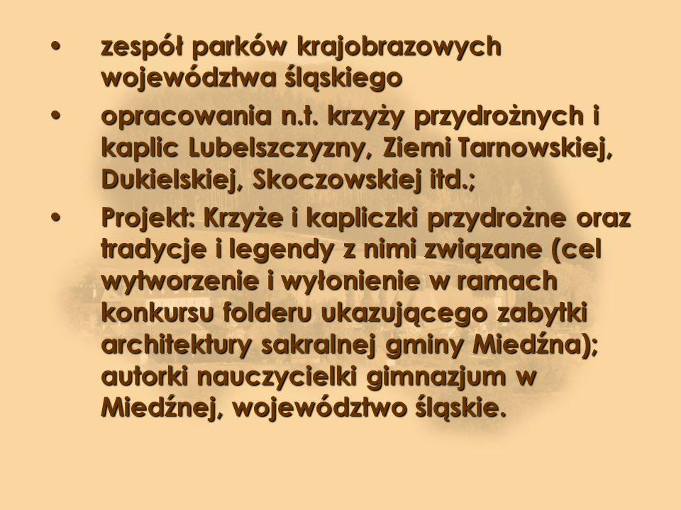 zespół parków krajobrazowych województwa śląskiego