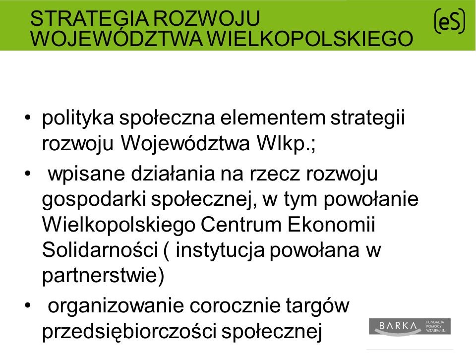 Strategia Rozwoju Województwa Wielkopolskiego