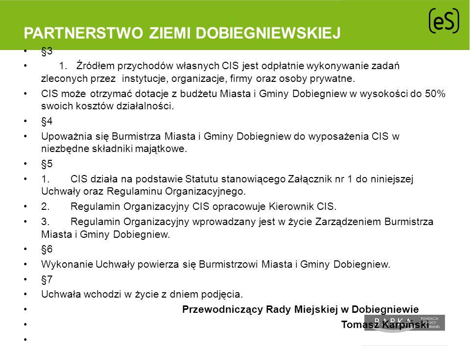 Partnerstwo Ziemi Dobiegniewskiej