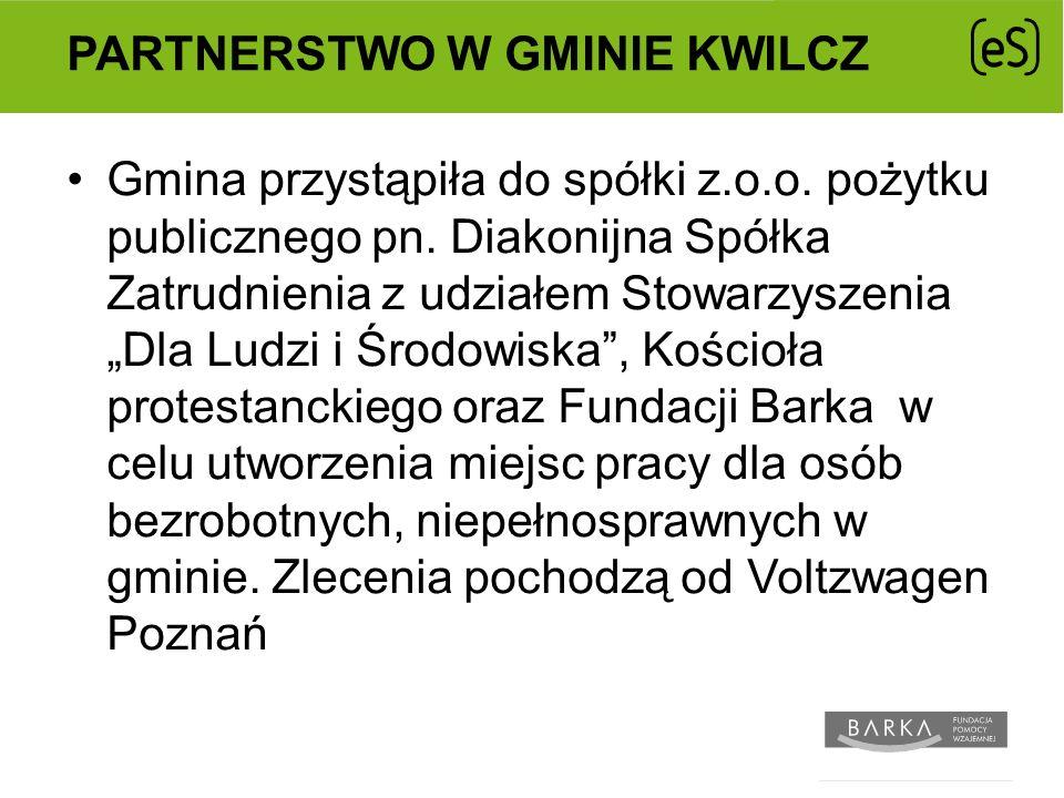 Partnerstwo w gminie Kwilcz