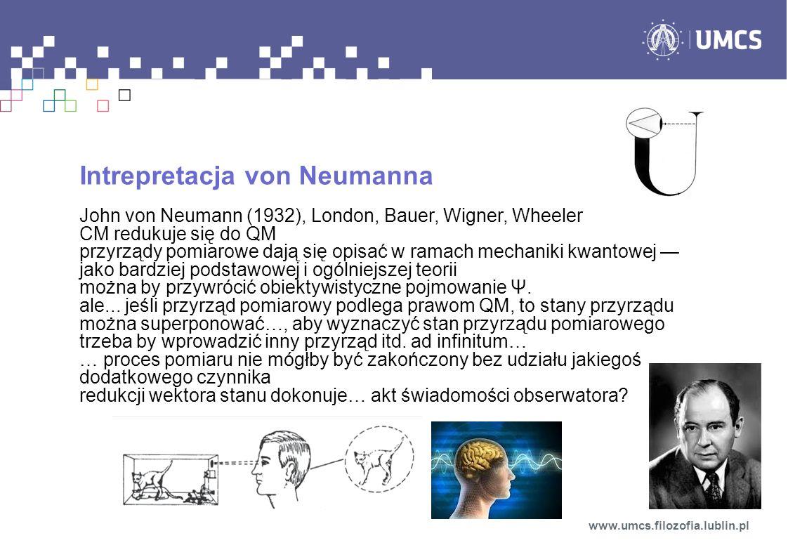 Intrepretacja von Neumanna