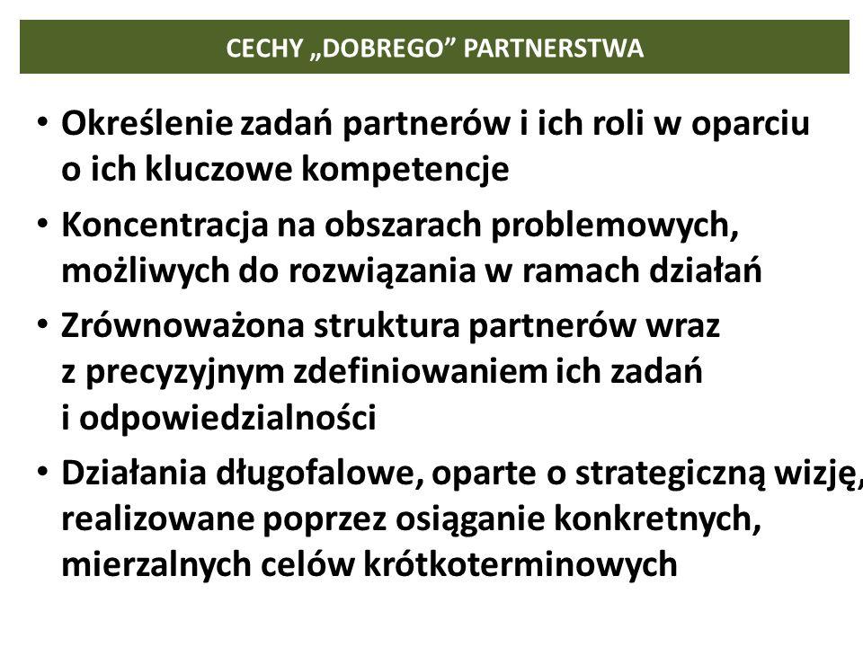 """CECHY """"DOBREGO PARTNERSTWA"""