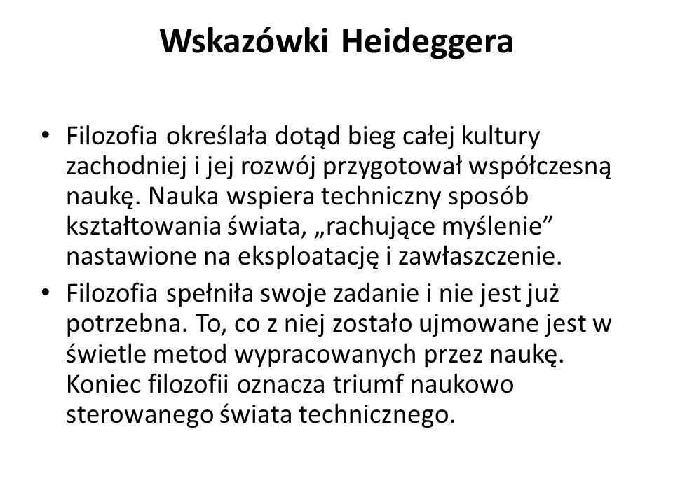 Wskazówki Heideggera