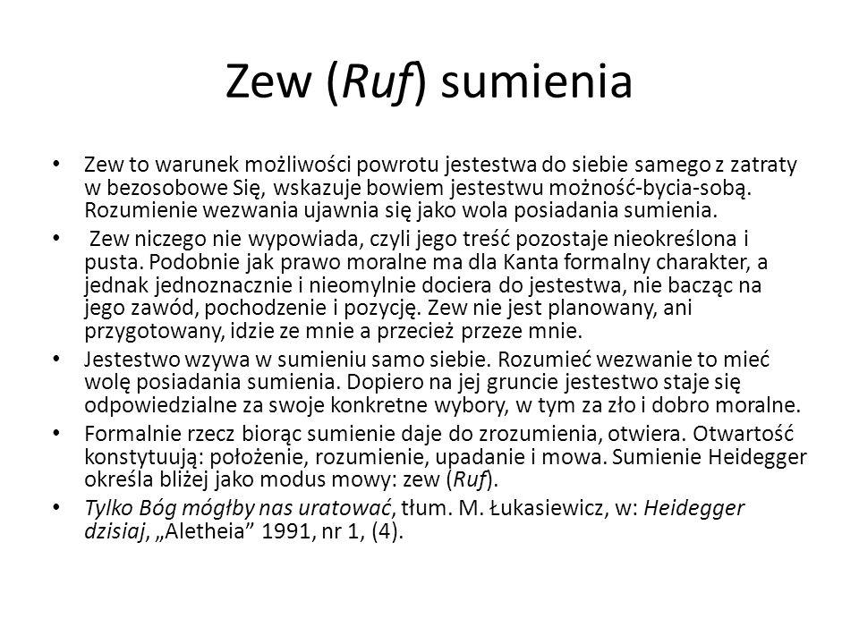 Zew (Ruf) sumienia