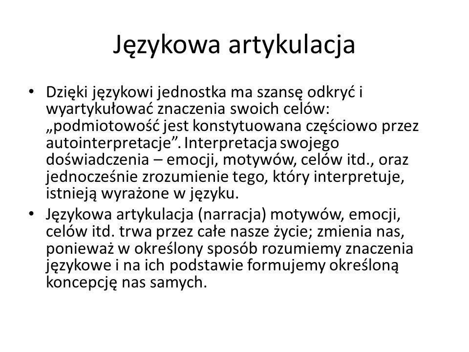 Językowa artykulacja