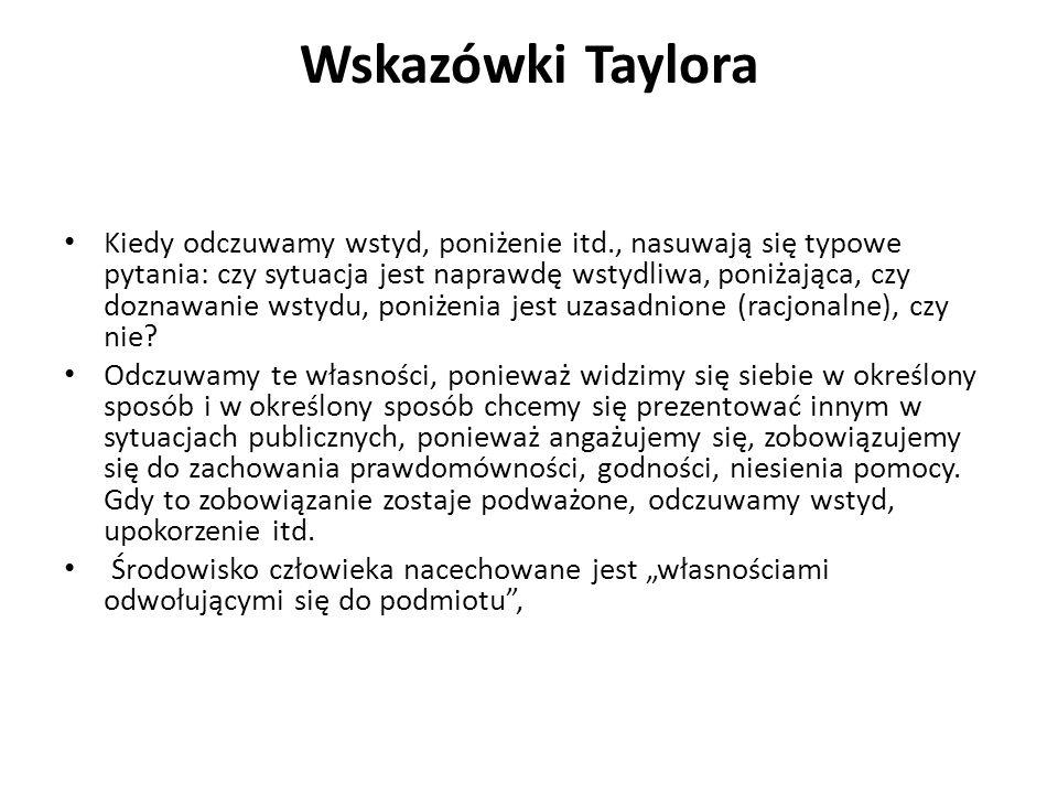 Wskazówki Taylora