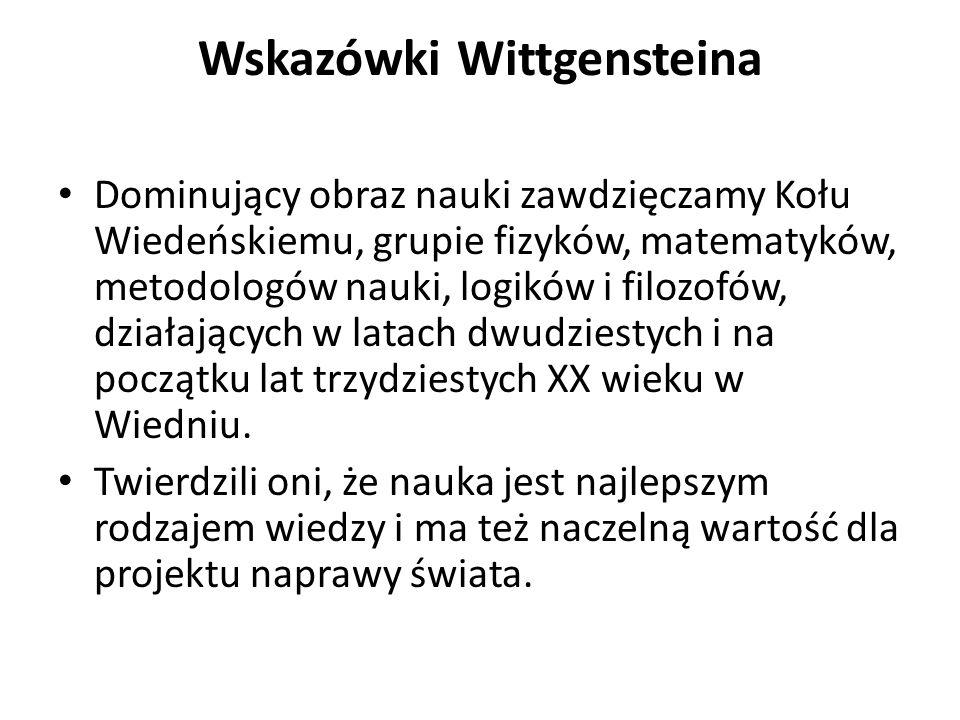Wskazówki Wittgensteina