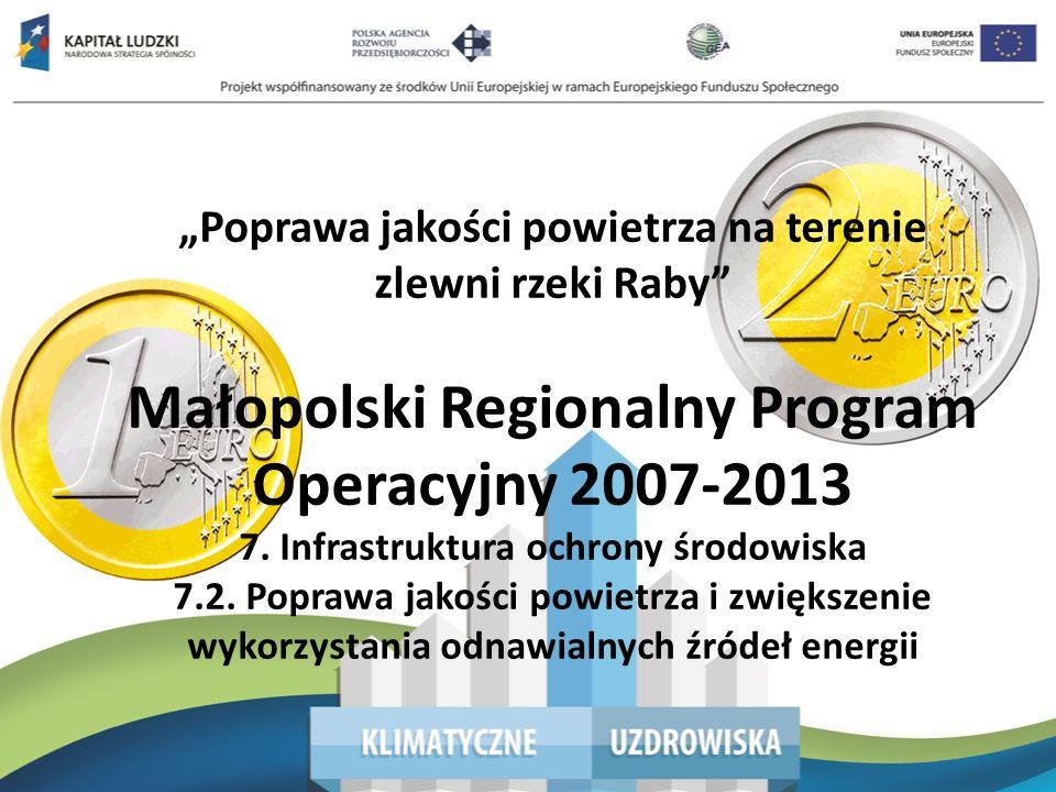 Małopolski Regionalny Program Operacyjny 2007-2013