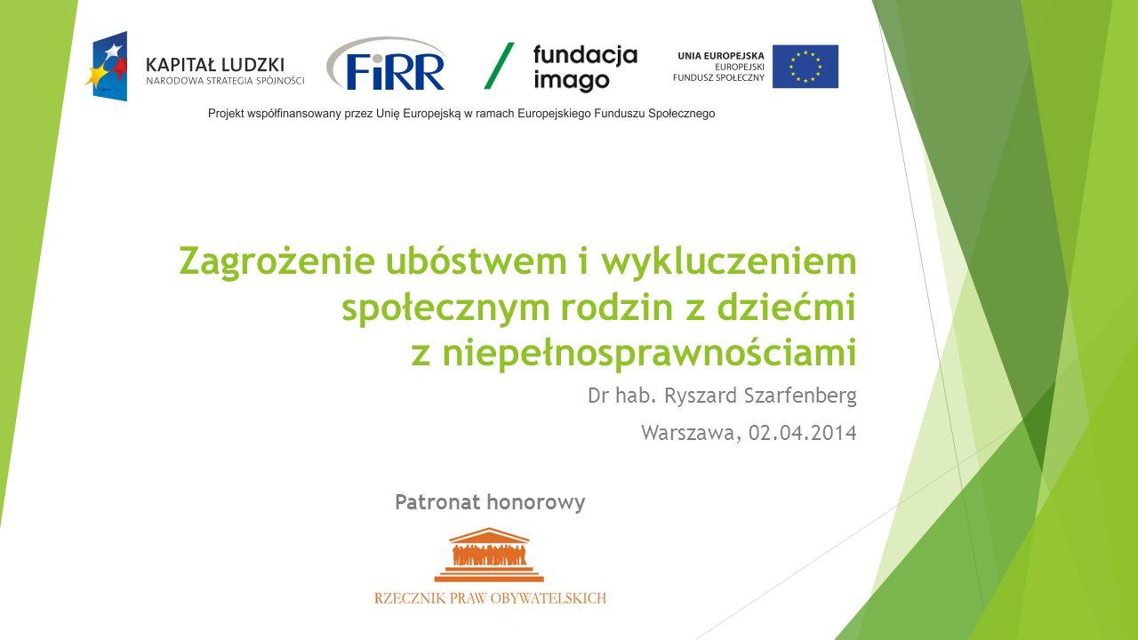 Dr hab. Ryszard Szarfenberg Warszawa, 02.04.2014