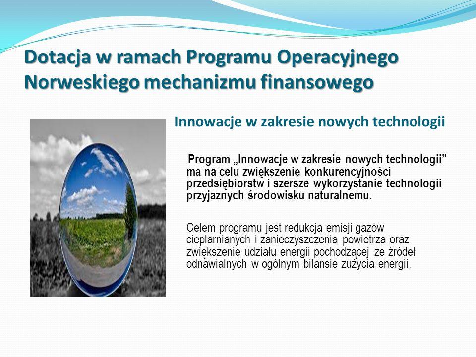 Innowacje w zakresie nowych technologii