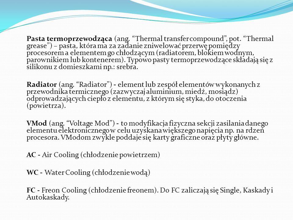 Pasta termoprzewodząca (ang. Thermal transfer compound , pot