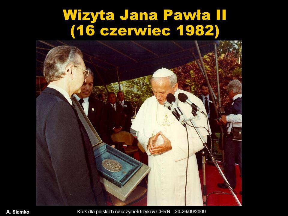 Wizyta Jana Pawła II (16 czerwiec 1982)
