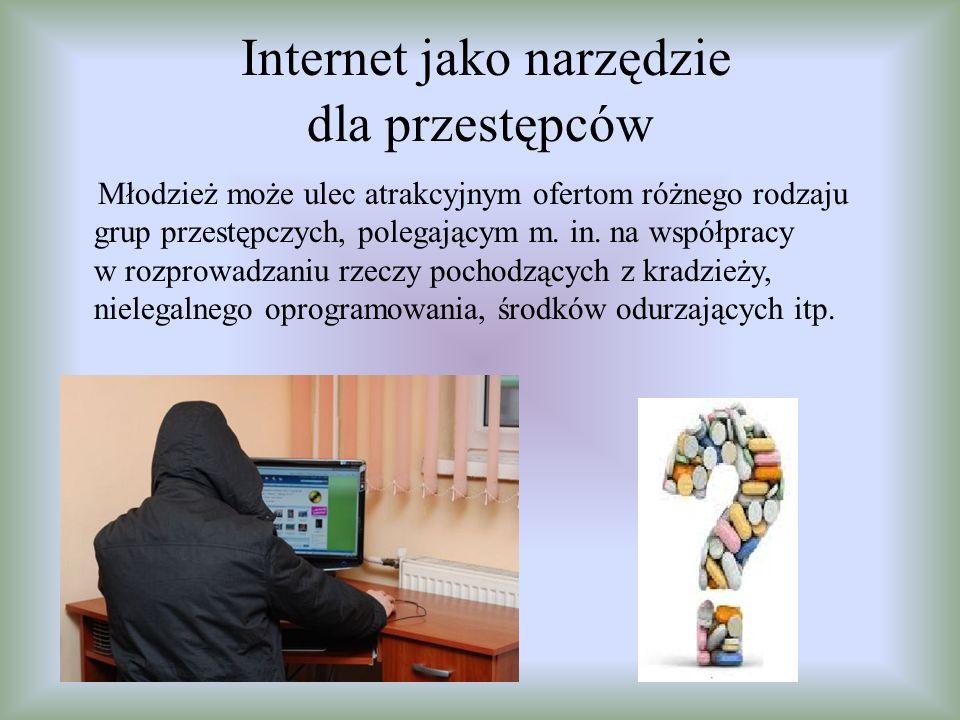 Internet jako narzędzie dla przestępców
