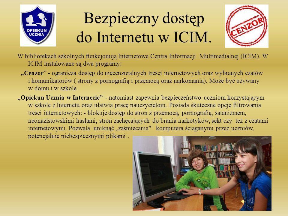 Bezpieczny dostęp do Internetu w ICIM.