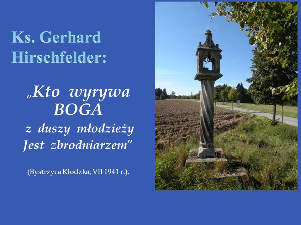 Ks. Gerhard Hirschfelder: