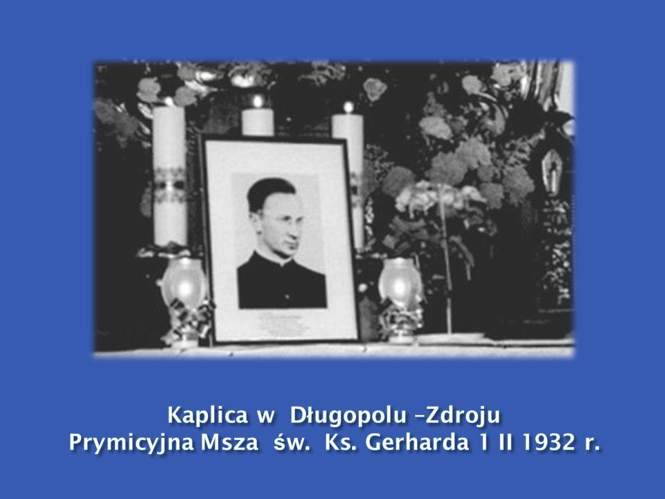 Kaplica w Długopolu –Zdroju Prymicyjna Msza św. Ks