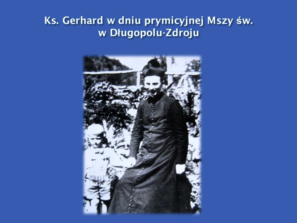 Ks. Gerhard w dniu prymicyjnej Mszy św. w Długopolu-Zdroju