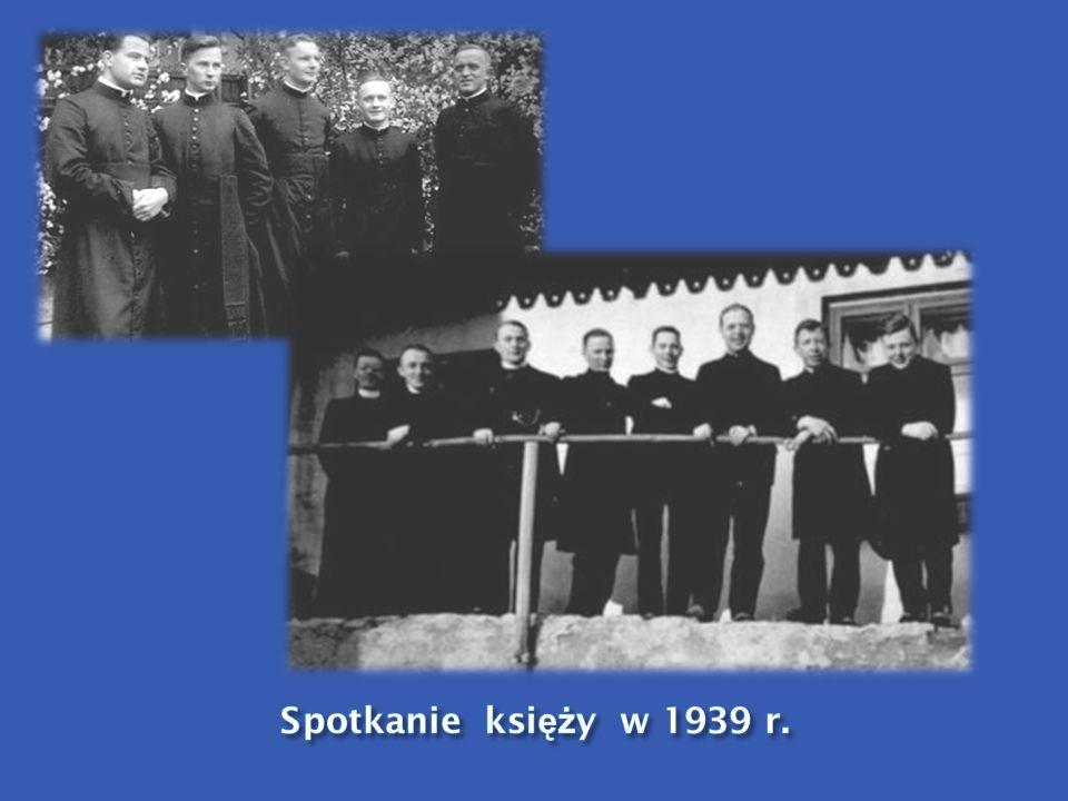 Spotkanie księży w 1939 r.
