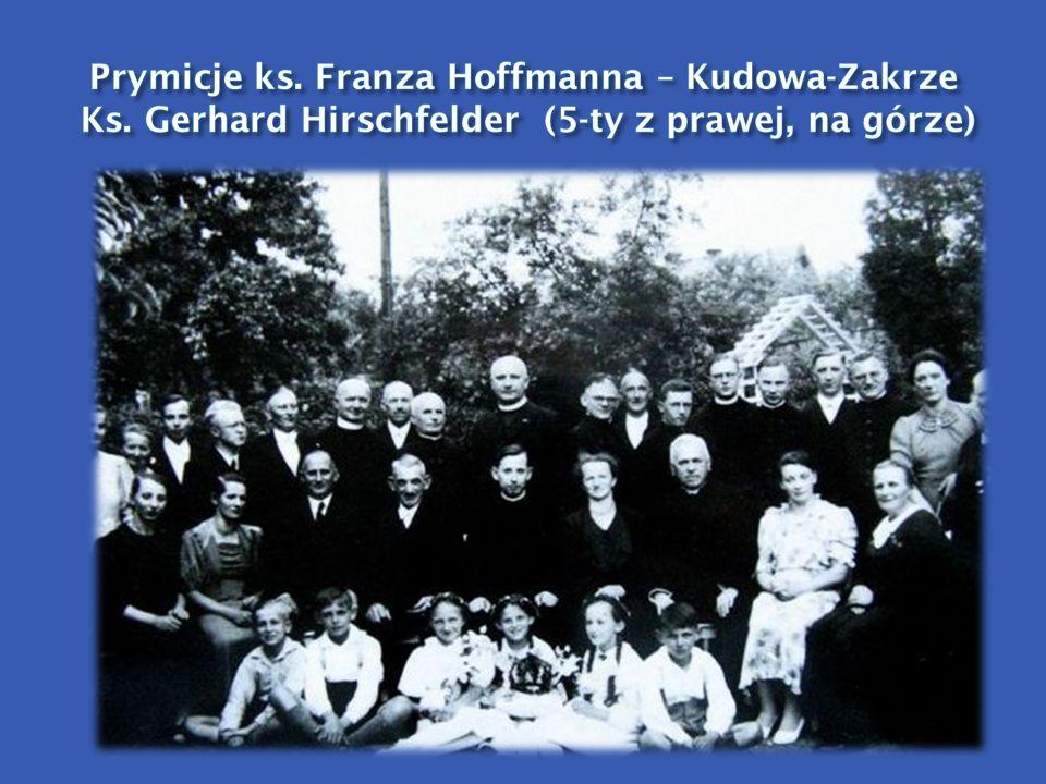 Prymicje ks. Franza Hoffmanna – Kudowa-Zakrze Ks