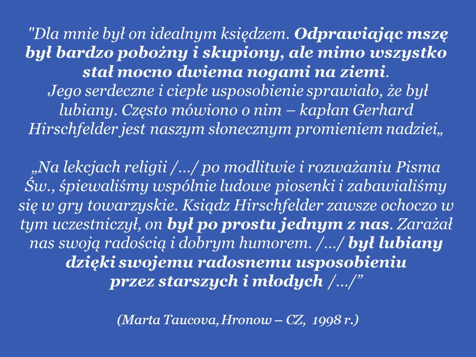 (Marta Taucova, Hronow – CZ, 1998 r.)