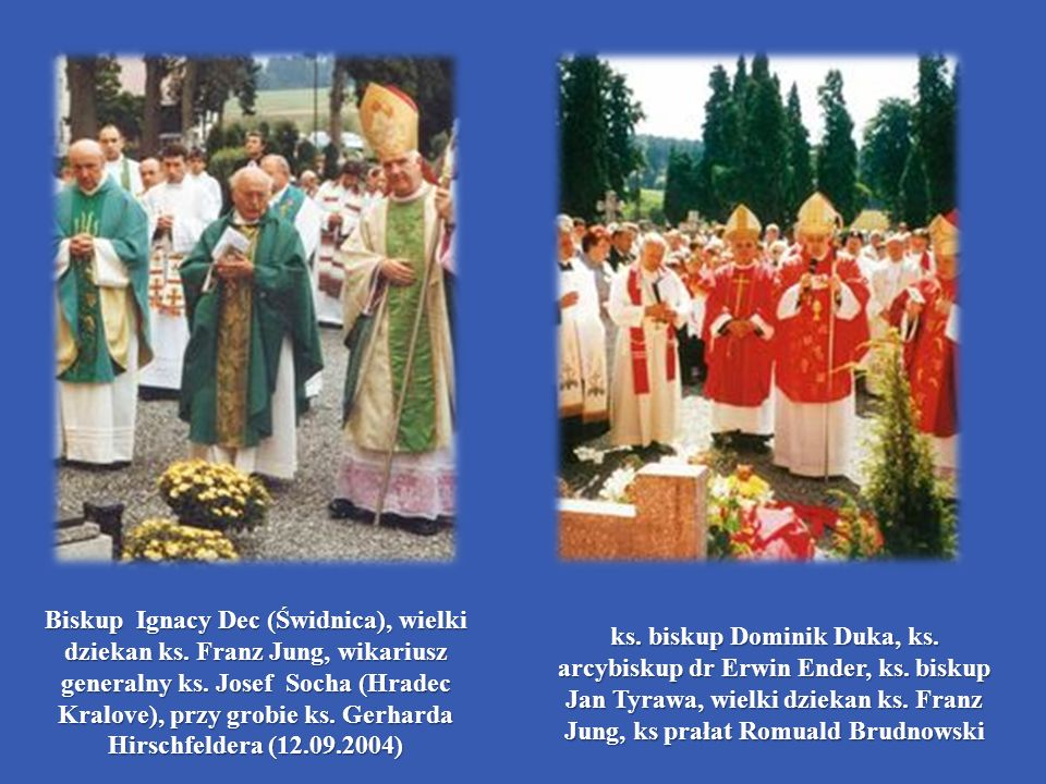 Biskup Ignacy Dec (Świdnica), wielki dziekan ks