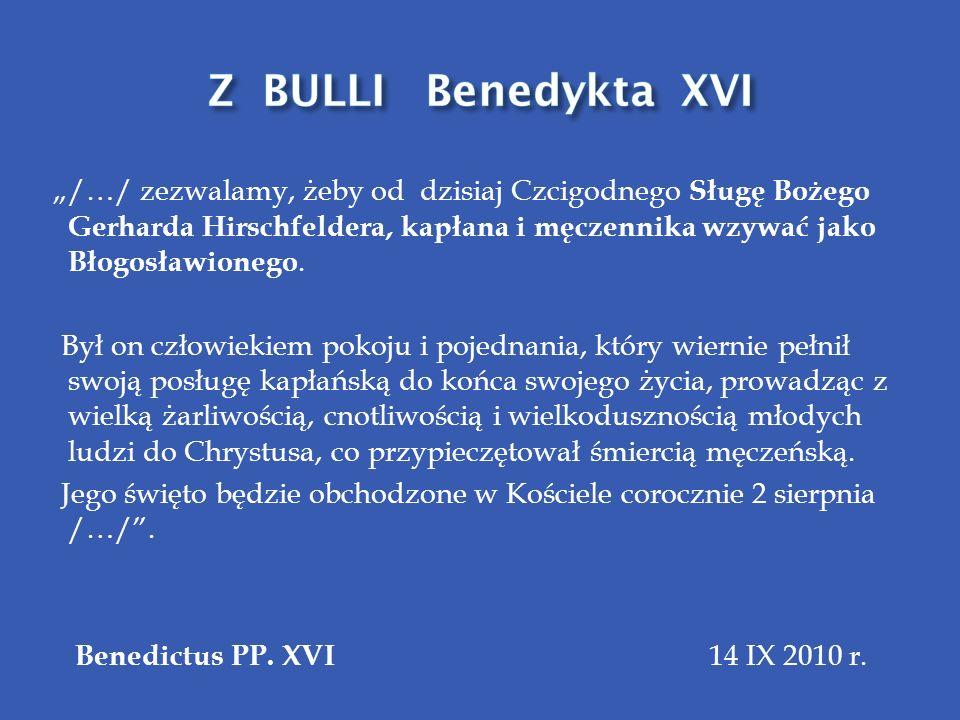 Z BULLI Benedykta XVI
