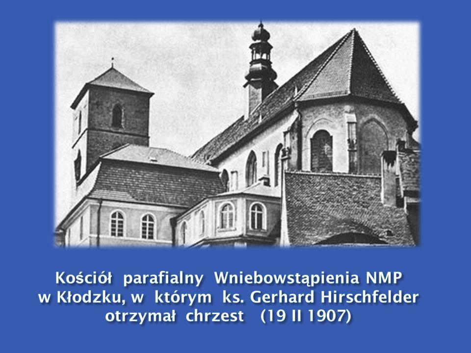 Kościół parafialny Wniebowstąpienia NMP w Kłodzku, w którym ks