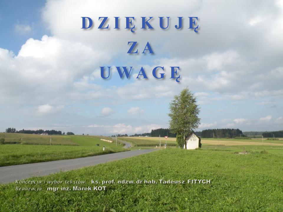 D Z I Ę K U J Ę Z A. U W A G Ę. Koncepcja i wybór tekstów: ks.
