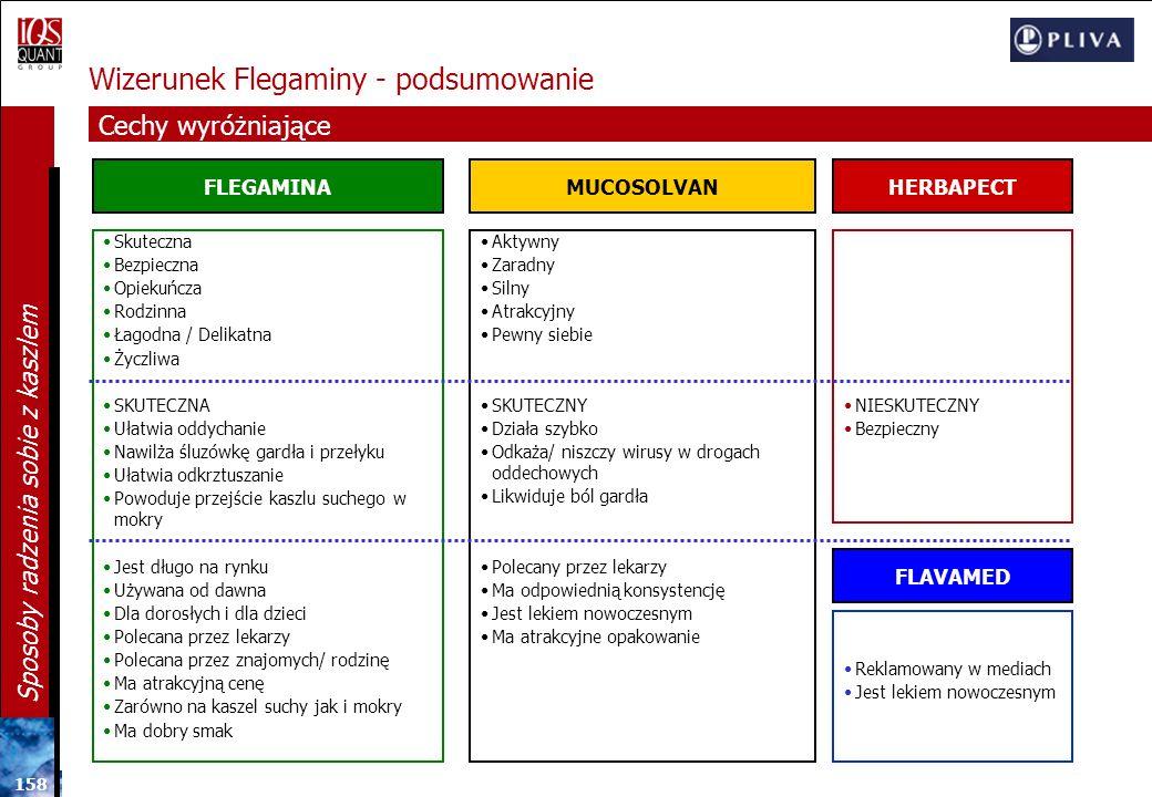 Wizerunek Flegaminy - podsumowanie