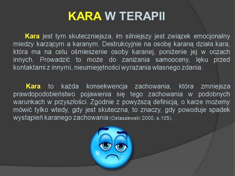 KARA W TERAPII