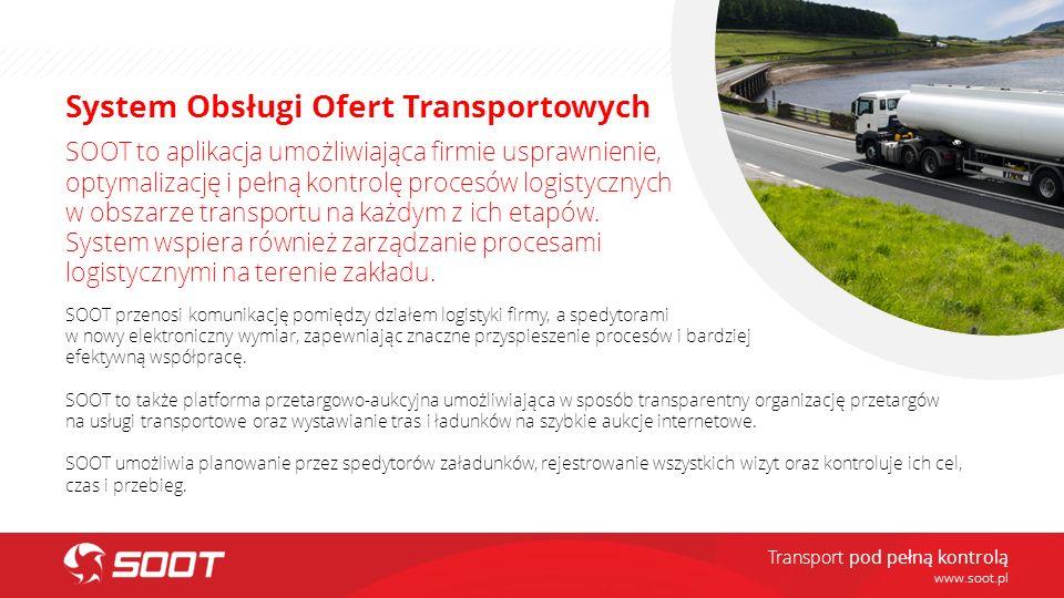 System Obsługi Ofert Transportowych